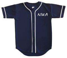 NWA Members Baseball Jersey Navy by YungMadStrange on Etsy