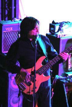 Alan Thompson - Martin Barre Band 3 September 2014 © Ian Burgess