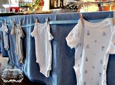 It's a Boy! - Baby Shower Ideas | Hymns and Verses   Love this table decoration! so cute!!