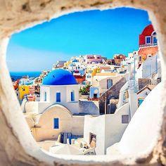 Follow @nikolajastrup for more travel pics! Santorini, Greece  Photo by ©Marchello74