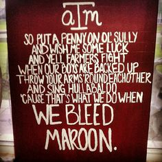 I need to make one of these! Love it! Gig 'em, Ags!