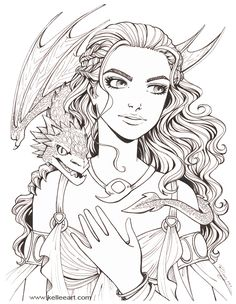 One more Daenerys. I promise I'll stop now.  Onto color! ©Kellee Riley Daenarys © George R. R. Martin WEBSITE || FACEBOOK || TWITTER || STORE || LIVESTREAM || YOUTUBE || TUMBLR || INSTAGRAM