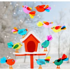 Bird Feeders For Kids To Make, Diy For Kids, Crafts For Kids, Rustic Doors, Kids And Parenting, Christmas Cookies, Kids Playing, Diy And Crafts, Art Projects