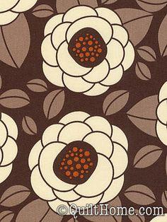 Ginseng HDJD02-Chocolate Home Dec Fabric by Joel Dewberry