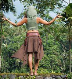Top con capucha cultivo Mama tierra por ElvenForest en Etsy