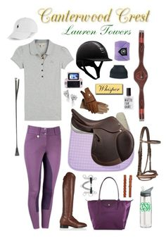 """Canterwood Crest: Lauren Towers"" by equine-couture ❤ liked on Polyvore"