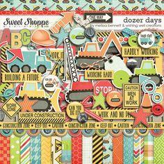 Dozer Days by Melissa Bennett & Wishing Well Creations