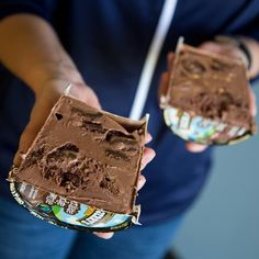 Half for me. Half for you! There's more than one way to split a pint of Ben & Jerry's.