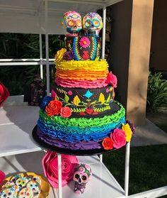 10 Drop Dead Gorgeous Cakes For Dia de los Muertas — Cake Wrecks Day Of The Dead Cake, Day Of The Dead Party, Cake Wrecks, Mexican Birthday, Mexican Party, Drop Dead Gorgeous, Cupcakes, Cupcake Cakes, Shoe Cakes