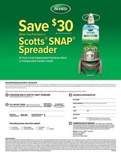 Rcved my $30.00 Rebate Check in the mail for this item from Scotts Miracle Gro Rebate
