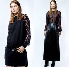 Costume and Costume 2013-2014 Winter Womens Lookbook Collection - Costume National New Fashion Line January 2014 Launch - Motorcycle Biker J...