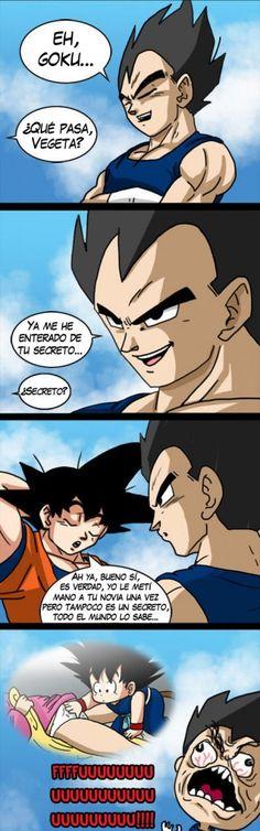 ★★★★★ Memes en español 2016: Éste es el motivo por el que Vegeta odia a Goku I➨… Goku, Chibi, Dbz Characters, Dragon Pictures, Comic Games, Cartoon Memes, Cute Comics, Anime Figures, Otaku Anime