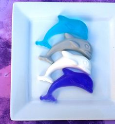 24 DOLPHIN SOAP FAVORS - (Tags and Bags Included) - Dolphin Birthday Party, Soap Favors, Dolphin Soap, Dolphin Party