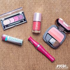 Mid Week #MakeupMenu // #AllPinkEverything #Nykaa #InstaLove