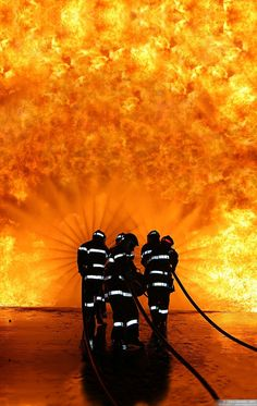 "dandymayraella: "" In Honor of Firefighters """