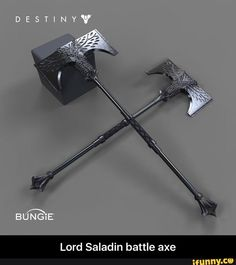 Destiny – Rise of Iron – Titan Axes – (New Subclass?) Destiny – Rise of Iron – Titan Axes – (New Subclass? Ninja Weapons, Anime Weapons, Sci Fi Weapons, Weapon Concept Art, Weapons Guns, Destiny Bungie, Destiny Game, Fantasy Sword, Fantasy Weapons