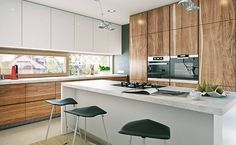 Nowoczesny 2 - wizualizacja 6 - Nowoczesne projekty domów