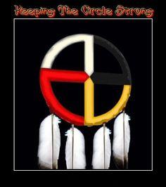 The Medicine Wheel is representative of American Indian Spirituality. Native American Wisdom, American Spirit, Native American History, Native American Indians, Native American Medicine Wheel, Native Indian, Native Art, Indian Art, Indian Spirituality