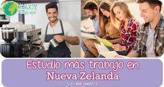 #ProgramaDelDía #Estudio más #trabajo en #NuevaZelanda. Estudia el idioma inglés y recibe la oportunidad de trabajar medio tiempo. Estamos a tus órdenes, solicita más información sin compromiso: 01 800 5042073 #EnjoyLanguages #Travel #Explore #EstudiaenelExtranjero
