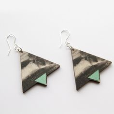Earrings Storm are printed onto 3 mm sustainably sourced Finnish birch plywood PEFC and FSC certified wood. Drop Earrings, Jewellery, Personalized Items, Prints, Jewels, Schmuck, Drop Earring, Jewelry Shop, Jewlery