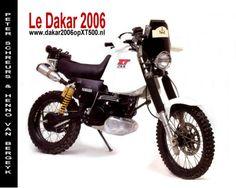 Old XT500 made into a moderen Rallye bike. - ADVrider