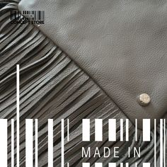 Grey texture by MADE IN designers. #Fringed #ConceptStore #Boutique #MexicanDesign