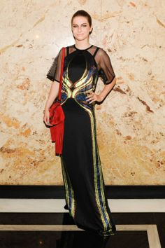 Tali Lennox in Gucci   Gucci Beauty Launch Party - Celebrity Photos from Gucci's Beauty Launch - Harper's BAZAAR