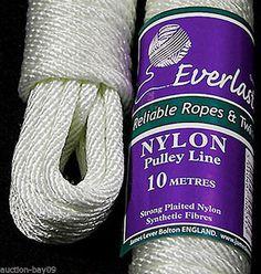 EVERLASTO NYLON PULLEY LINE - Various Lengths