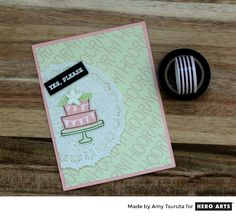 Cake? Yes, please! Card by Amy Tsuruta