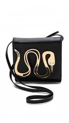 Jonathan Adler Vera Snake Cross Body Bag $228.00
