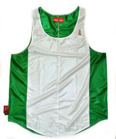 Nigeria Flag Tank Top $58.03 | CHRiS CARDi House of Design