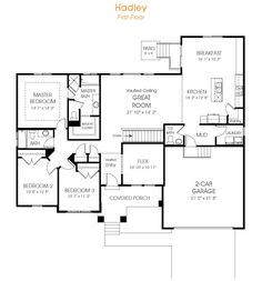 Rambler house plans with basements legendary model 3 for Rambler house plans utah