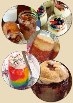 Recipes Baked In a Jar!