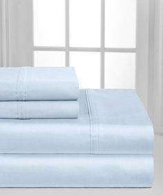 Loving this Blue Monaco Collection Sheet Set on #zulily! #zulilyfinds