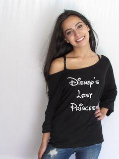 Disney's lost princess Off Shoulder loose T-shirt. Mama Bear Boat Neck shirt. made by ThinkElite1 by THINKELITE1 on Etsy