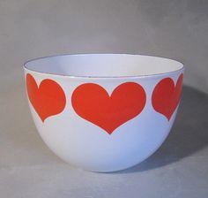 heart bowl.