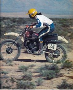 1976- Husqvarna in the desert
