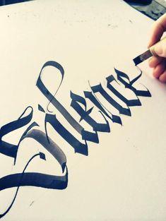 Calligraphy. TANAI by TANAI TiG crew, via Behance