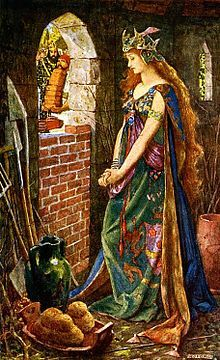 "Pre-Raphaelite Painting:  ""The Princess Imprisoned in the Summerhouse,"" by Henry Justice Ford.  #Pre-Raphaelite."