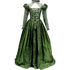 Shakespeare In Love Dress - edited by thestars-themoon ❤ liked on Polyvore featuring dresses e costumes