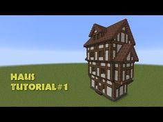 Lets Show Minecraft Mittelalter Fachwerkhaus Deutsch - Minecraft mittelalter haus klein