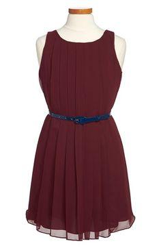 Ralph Lauren Pleated Sleeveless Dress (Toddler Girls, Little Girls & Big Girls) available at #Nordstrom