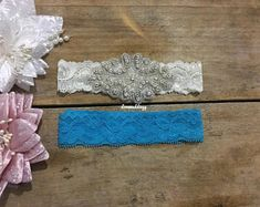 bride accessories garters for wedding bridal garter wedding Bride Garter, Wedding Garter, Vintage Birdcage Veils, Wedding Day Gifts, Bride Accessories, Garter Set, Bridal, Diy Flower, Flower Girls