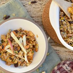Baked Apple and Carrot Oatmeal