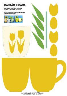 Uau! Veja o que temos para Cartão Xícara para Dia das Mães Amarelo Art N Craft, Craft Stick Crafts, Preschool Crafts, Crafts To Make, Paper Crafts, Diy Crafts Hacks, Easy Craft Projects, Cute Crafts, Mothers Day Crafts For Kids