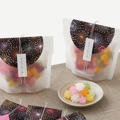[パッケージ通販] 夏 グミ パッケージ【簡単自作パッケージのパッケージデザインnet】 Little Boxes, Wax Seals, Packaging Design, Business Cards, Gift Wrapping, Branding, Graphic Design, Snacks, Creative