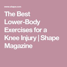 The Best Lower-Body