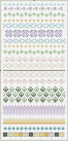 Spring Stitch Sampler