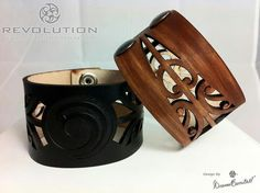 Maori inspired leather wrist bands from Revolution Aotearoa....I want them!