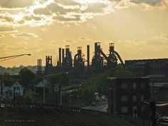 Bethlehem's five blast furnaces are considered the most dramatic remnant of bethlehem steel. The people of Bethlehem are so enamored of them they have adopted them as the town's unofficial logo.